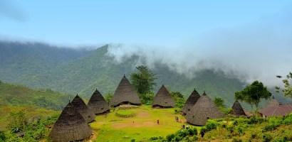 W indonezyjskiej wiosce Wae Rebo