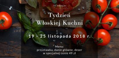 III edycja Tygodnia Włoskiej Kuchni