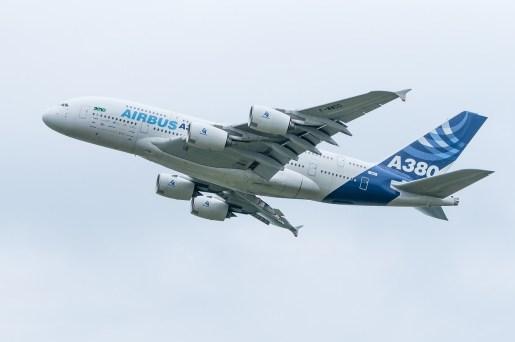 Airbus A380 wychodzi z produkcji