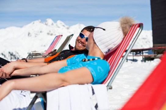 Wiosenne narciarstwo w austriackiej dolinie Stubaital