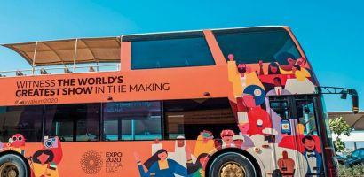 Bezpłatne wycieczki autobusowe podczas Dubai Expo 2020