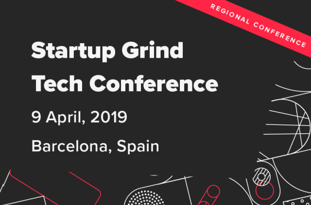 Join Us At StartUp Grind Tech Conference