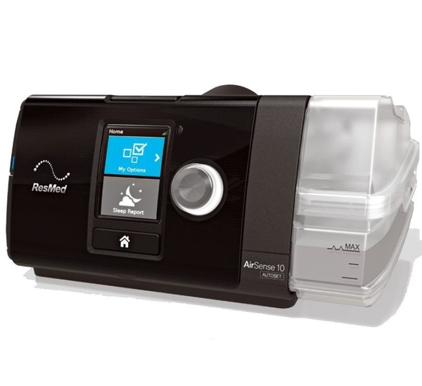 Resmed Airsense 10 Autoset CPAP Travel Machine