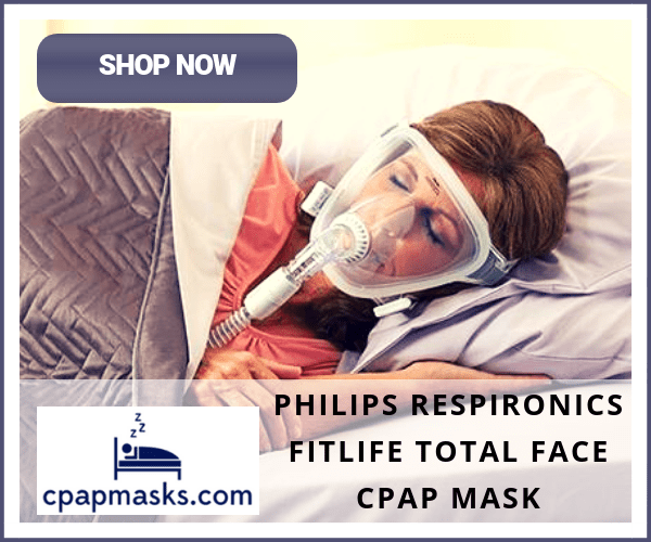 CPAPMasks.com FitLife Total Face CPAP Mask From Philips Respironics
