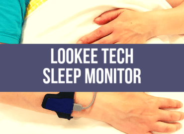 Lookee Tech Sleep Monitor (Canva)