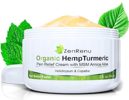 Sleep And Healing Injuries - Organic Hemp Pain Relief Cream