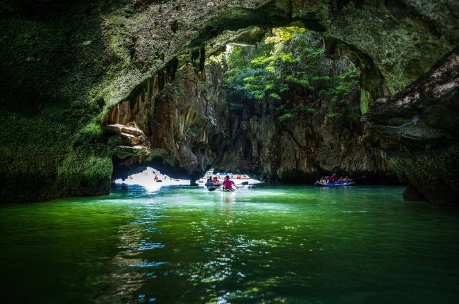 Sea Cave Kayaking