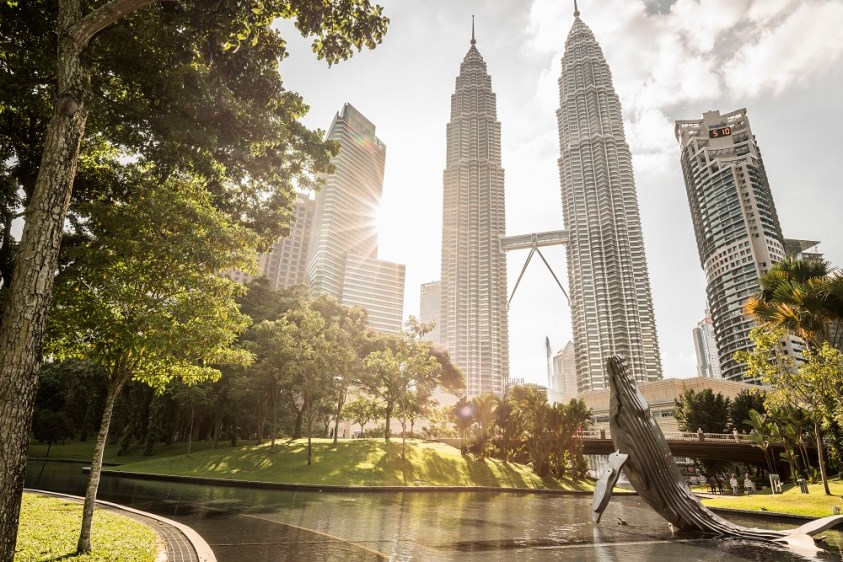 KLCC Park (Petronas Towers vs KL Tower - which one to visit)