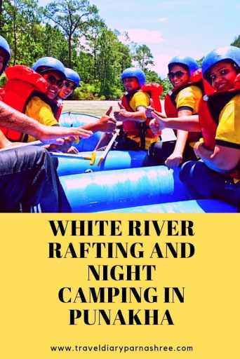 White River Rafting and Night Camping in Punakha