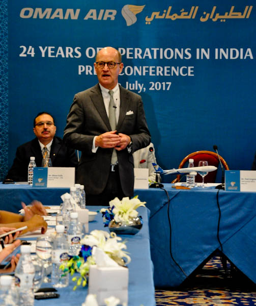 Oman Airways – Completing 24 years of Operation in India