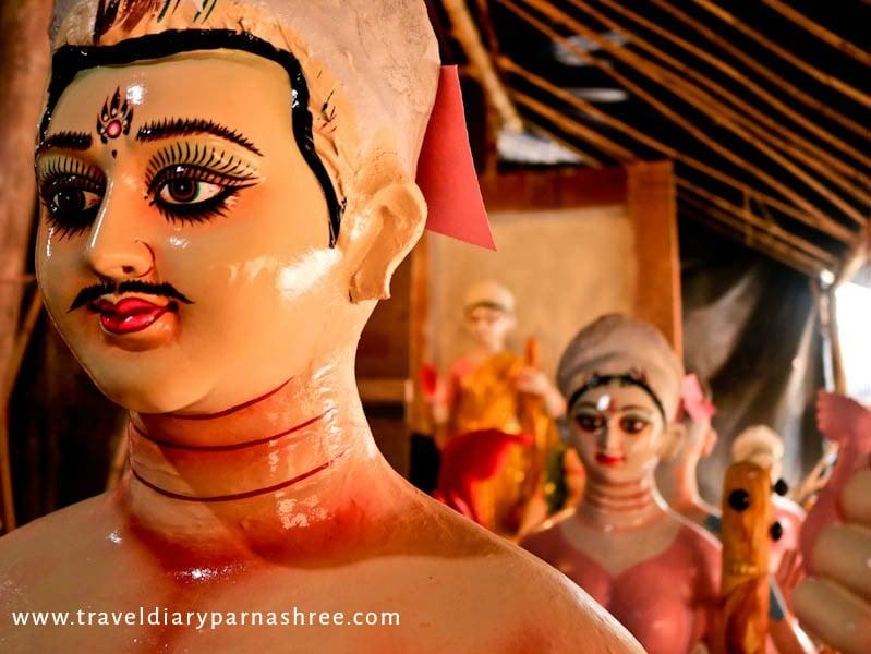 Where Are The Durga Idols made in Delhi