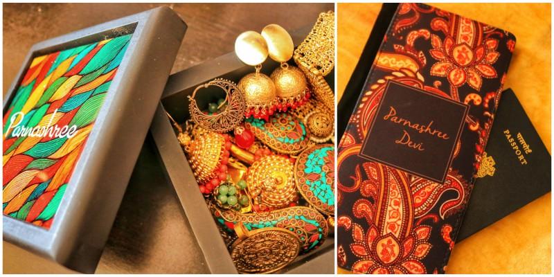 My Customized Passport Holder & Jewelry Box fromPerfico