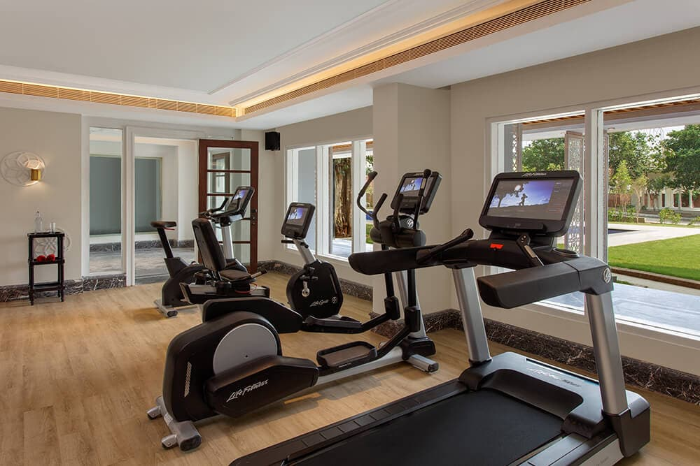 Gym area at ITC Welcomhotel Amritsar