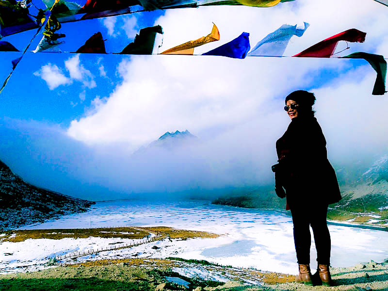 The breathtaking views of Sela lake, tawang, Arunachal Pradesh