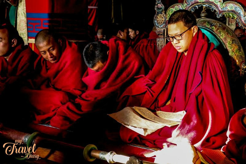 Attending morning prayer session is one of the must have experiences in Tawang. This is one of offbeat places in Tawang, Arunachal Pradesh