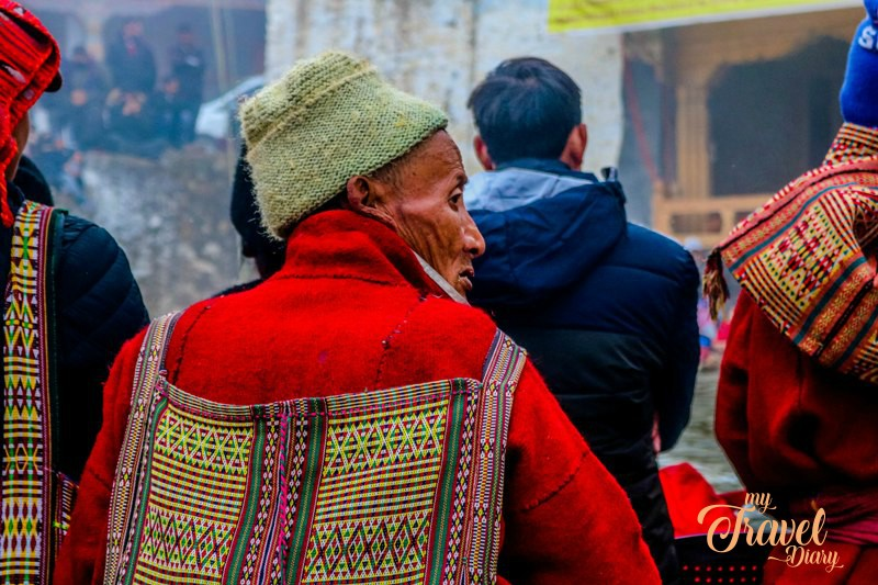 Monpa man came to Tawang Monastery to attend Torgya Festival. Attending Torgya Festival is one of the offbeat experiences in Tawang, Arunachal Pradesh