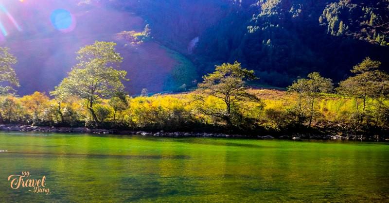 Scenic Dri river of Anini in Arunachal Pradesh