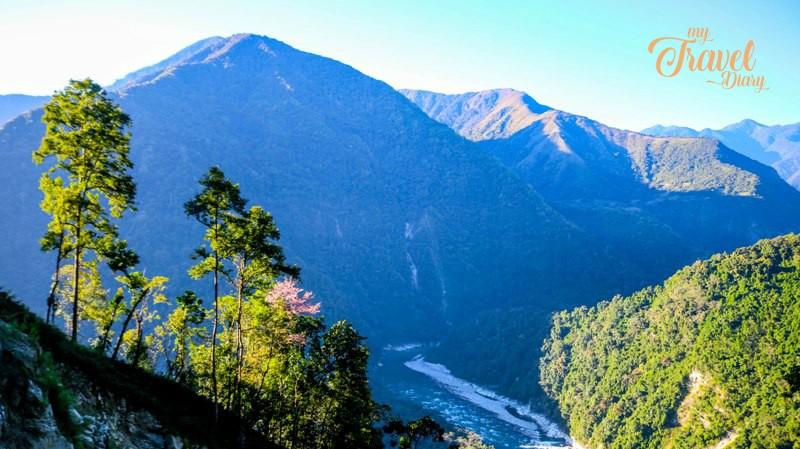 Jaw dropping landscape of Anini in Arunachal Pradesh