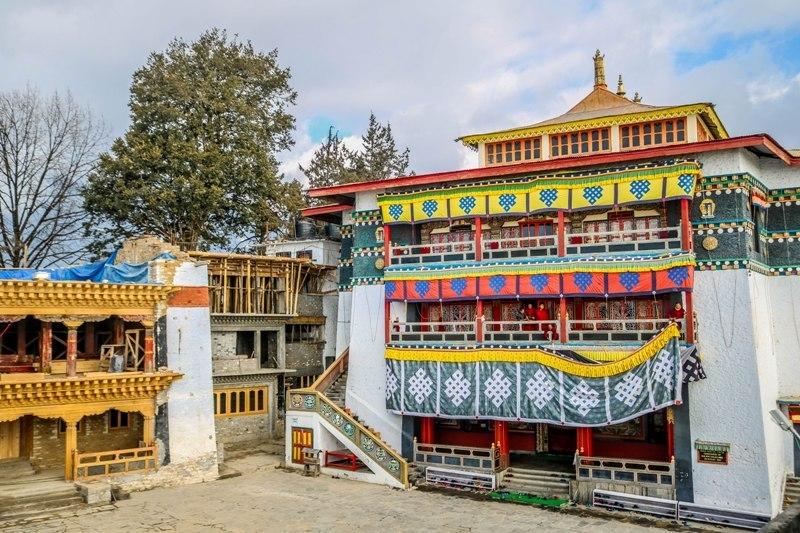 Tawang Monastery in Tawang, Arunachal Pradesh