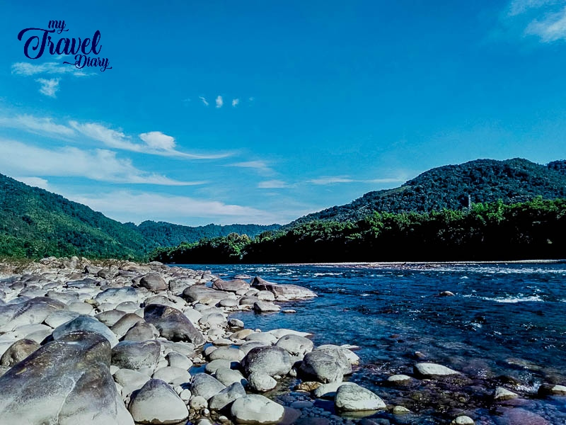 Syiom River and the view around in Aalo