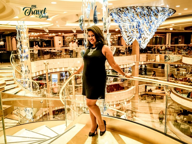 My little black dress was perfect for cruise dinner date