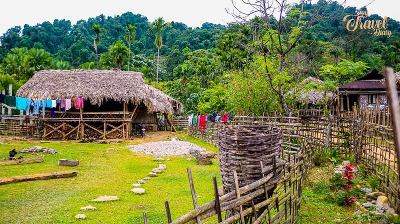 Ledum Village near Pasighat_Arunachal Pradesh