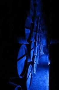 Dark Cellars in the Chateau de Cognac