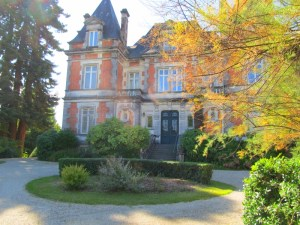 The Louis Royer Chateau in Jarnac near Cognac in France