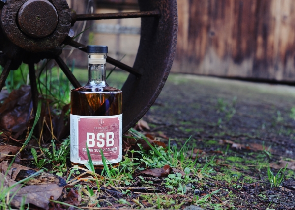 Bottle of Heritage Distilling's Brown Sugar Bourbon in review