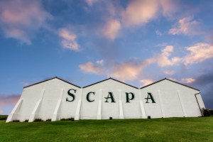 Scapa Distillery on Orkney in Scotland