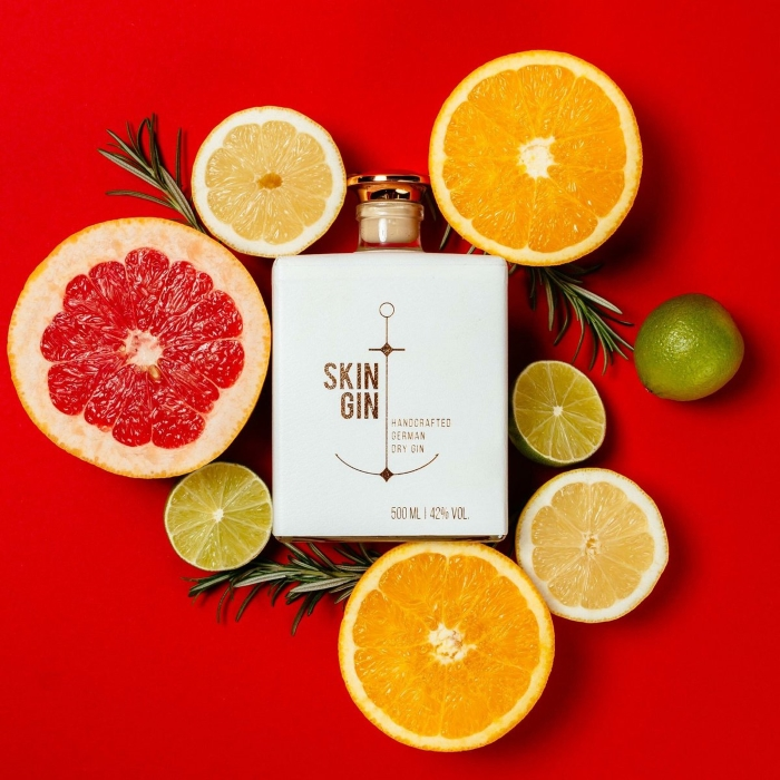 The citrus that go into Skin Gin