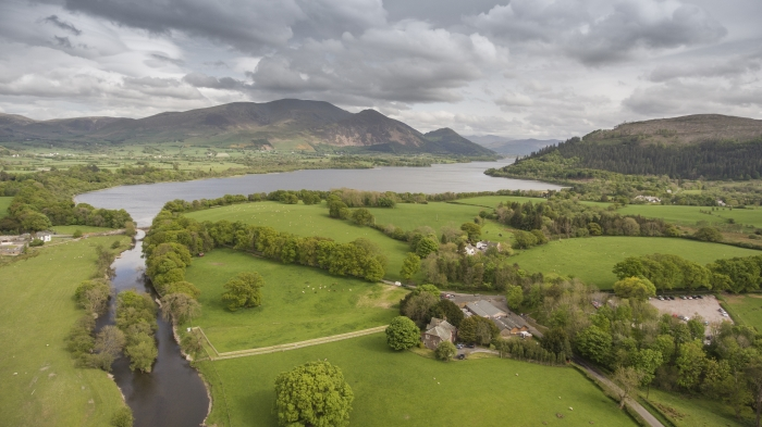 The Lakes Distillery in England's Lake District, close to Bassenthwaite