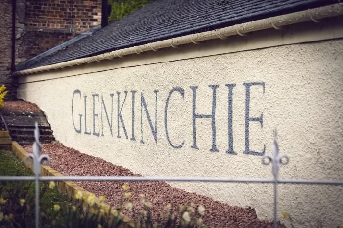 The Glenkinchie Distillery in Scotland in winter
