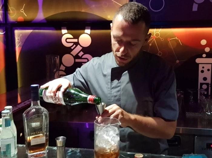 Aris Chatziantoniou of the MoMix Bar Kerameikos in Athens
