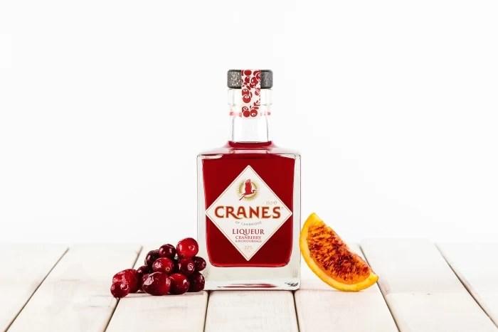 Cranes Cranberry Orange Liqueur