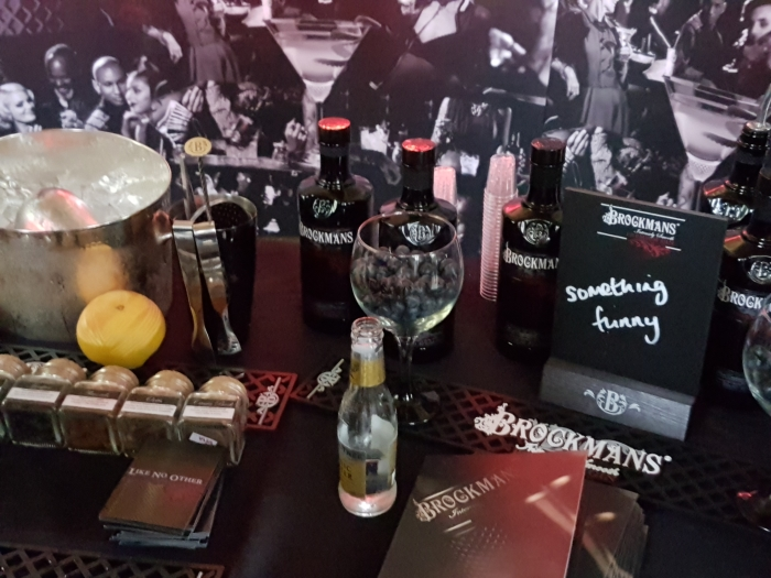 Brockmans Gin stand at Peterborough Gin Festival