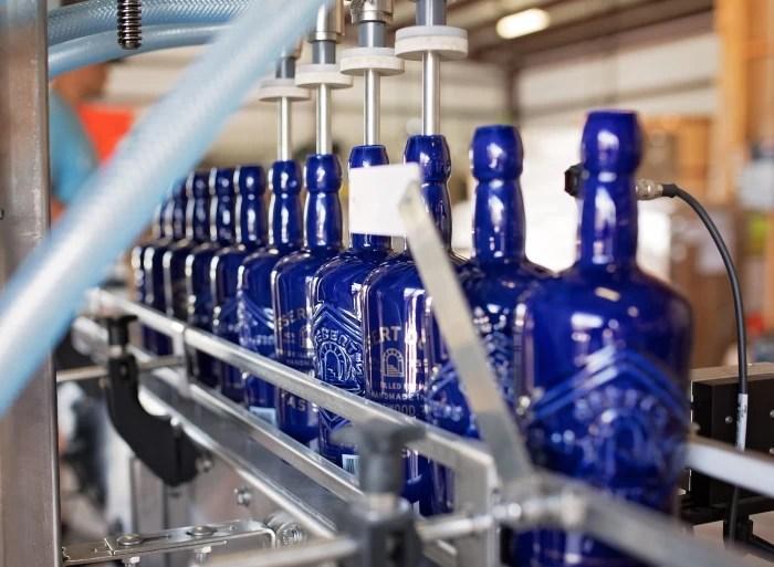 Desert Door Texas Sotol Bottling Line