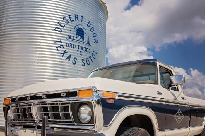 Desert Door Texas Sotol Truck at distillery