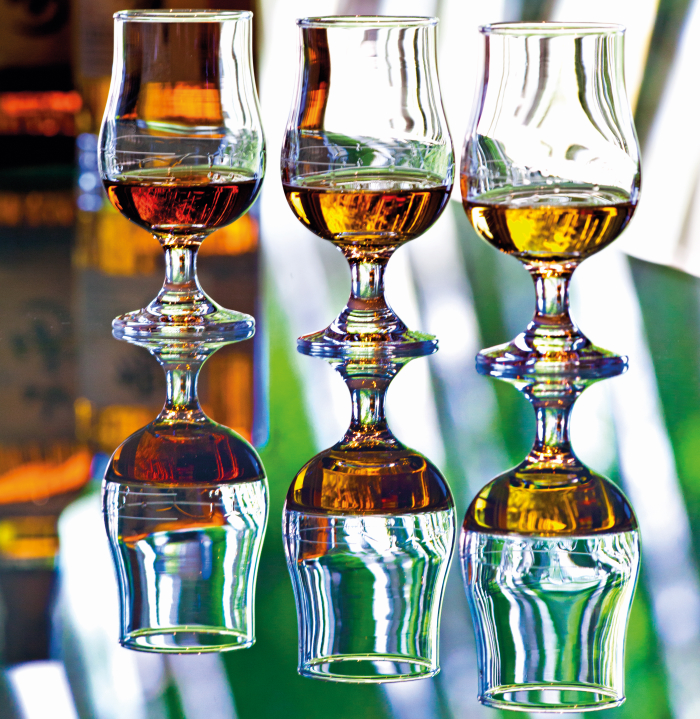 The Ultimate Guide to Japanese Whisky: whisky glasses.