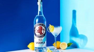 A bottle of Portobello Road Distillery British potato Vodka