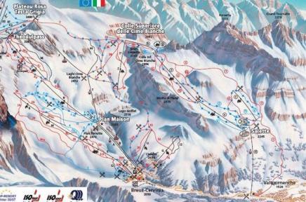 مخطط جبال الدولمتزالثلجية