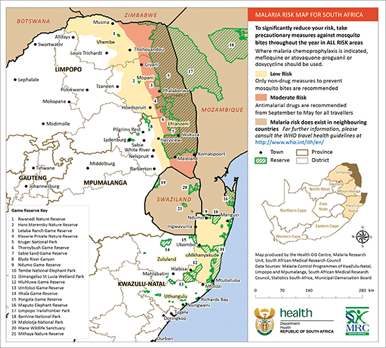 Malaria Update for South Africa - June 2017