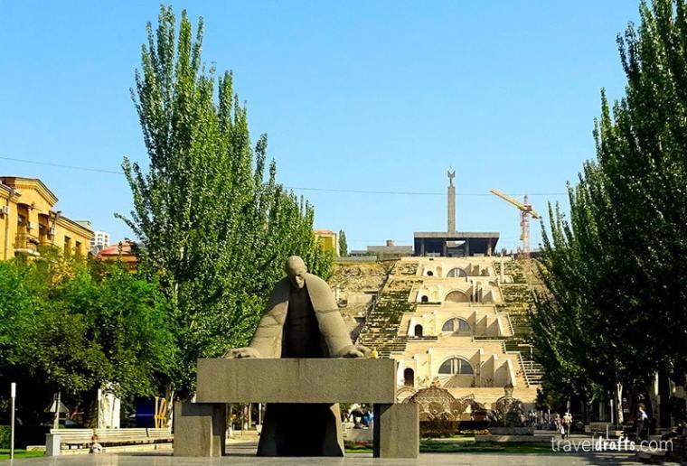 Top atractions of Erevan Armenia