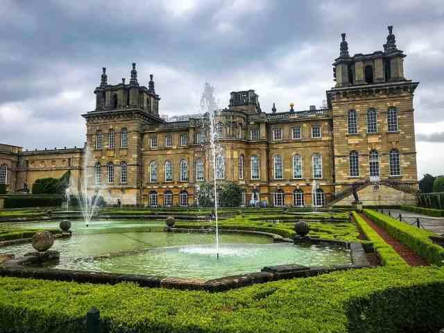 Blenheim Palace in Oxford, UK
