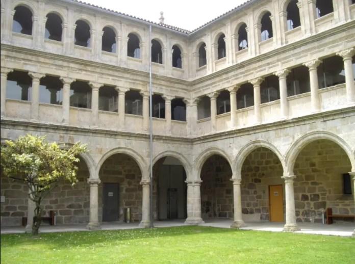 Parador Santo Estevo, Ribeira Sacra, Spain.