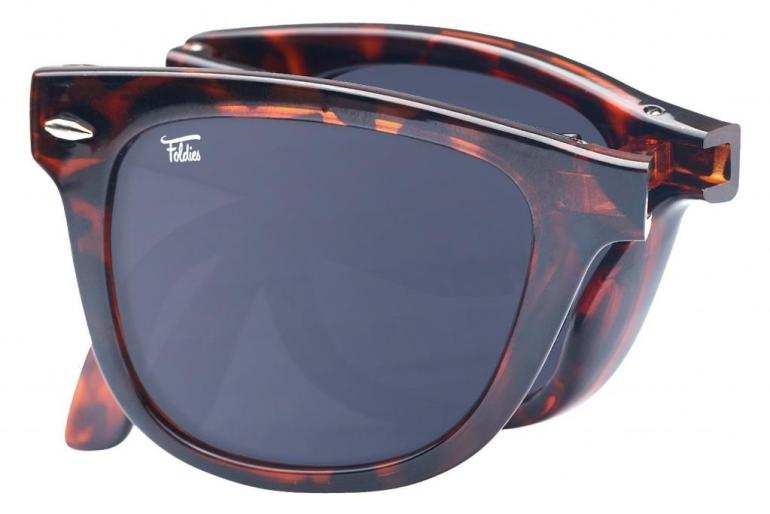 Backpacking sunglasses by Foldies