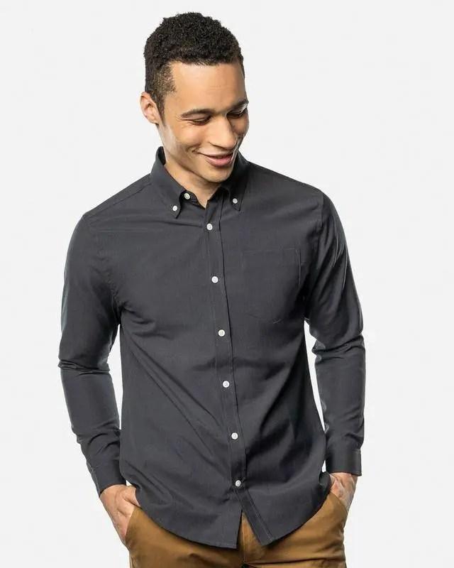 Unbound Merino button shirt