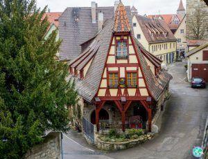 Rothenburg ob der Tauber desde su muralla