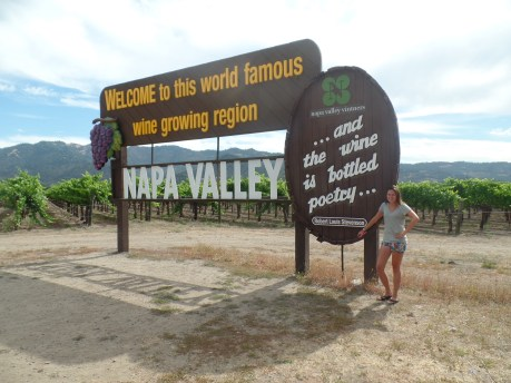 Famous Napa Valley Sign