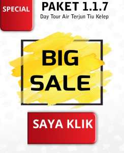 Klik Big Sale Paket 1.1.7 Day Tour Waterfall